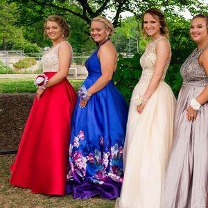 Prom Dress (Blue)